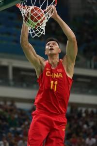 Yi Jianlian vertical