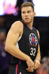 Oct 18, 2016; Sacramento, CA, USA; Los Angeles Clippers forward Blake Griffin (32) during the first quarter against the Sacramento Kings at Golden 1 Center. Mandatory Credit: Sergio Estrada-USA TODAY Sports